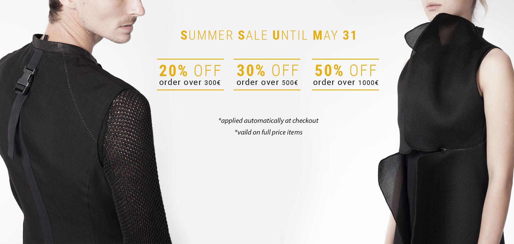 SS16 end of May 2016 Sale